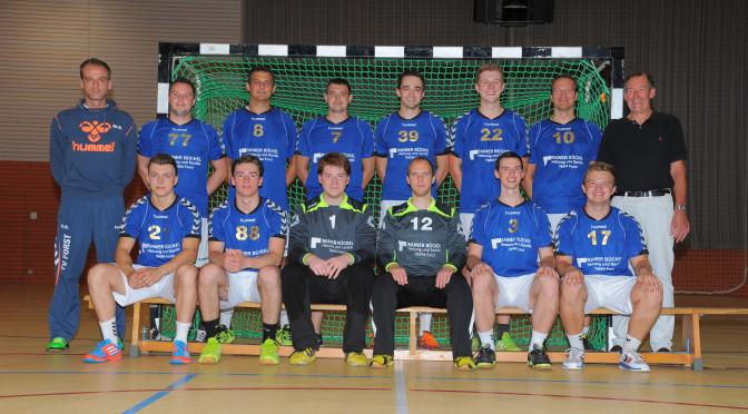 Erste Pokalrunde: HSG Bruchsal/Untergrombach  TV Forst 22:33 (15:19)