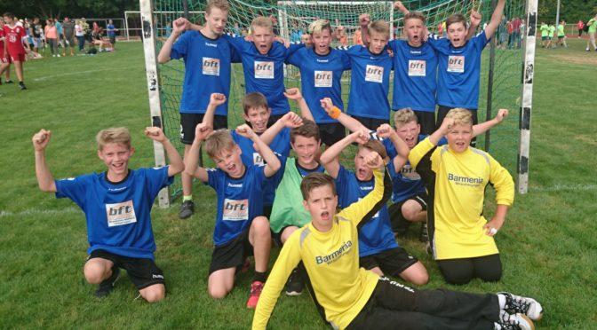 Vierter Turniersieg beim Rasenturnier in Helmsheim