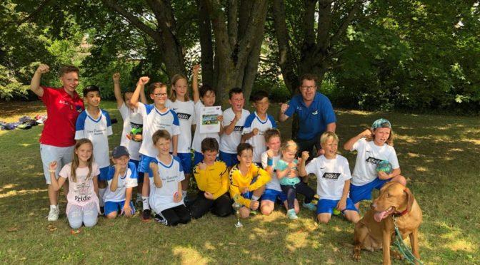 E1 und E2 spielen letztes Sommerturnier in Helmsheim