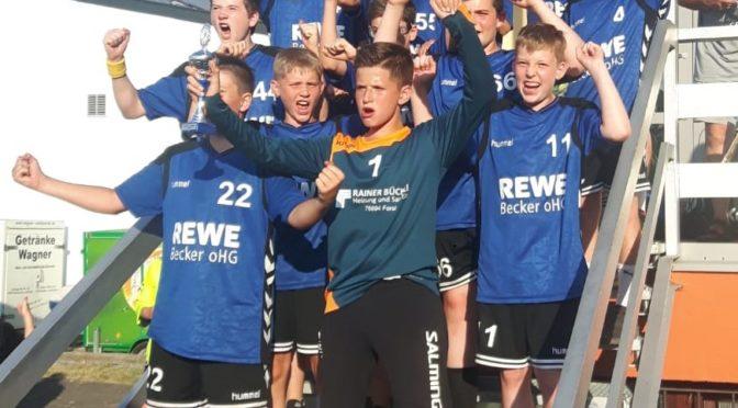 Erneute Titelverteidigung beim Turnier in Wössingen
