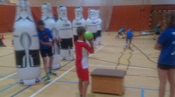 Spaß, mehr Spaß, Handball