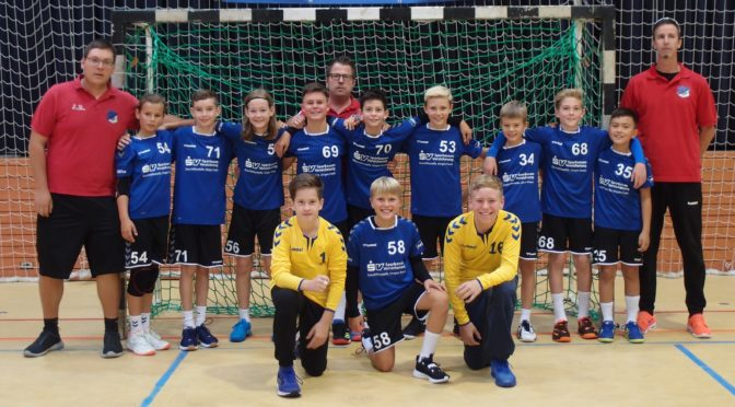 Handballer des TV Forst startete mit dem traditionellen MOHR-Junior-Cup in die Handballsaison